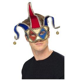 Venetiaans masker met belletjes