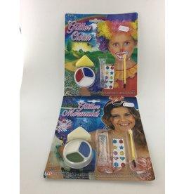 Glitter make up set 6 assortie