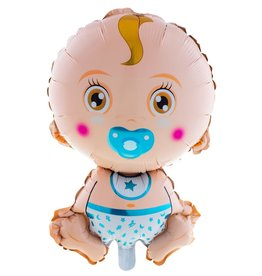 folieballon blauw jongen