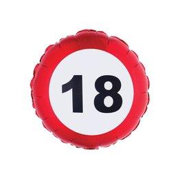 folieballon 18