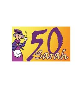 vlag 50 Sarah 90 x 150 cm