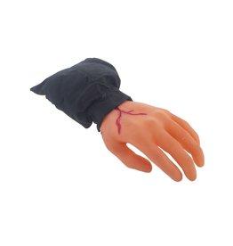 hand met bloed