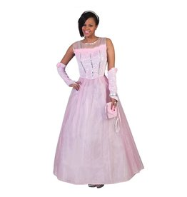 Funny Fashion kostuum roze prinses m 44-46