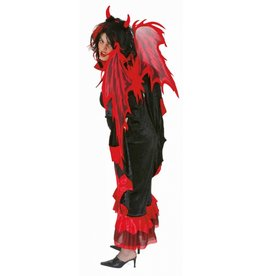 duivel vleugels rood 112 cm