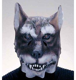 latex masker wolf