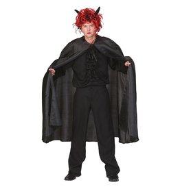 nylon cape zwart
