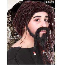 snor met sikje set piraat