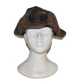 hoed piraat bruin