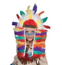 Indianen hoofdtooi lang kind