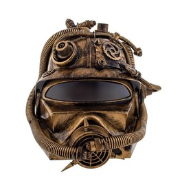 luxe helm steampunk brons
