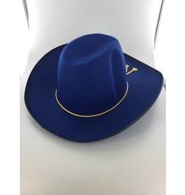Cowboyhoed Yankee blauw
