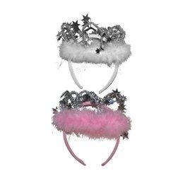 Funny Fashion prinsessenkroontje roze