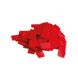 Confetti traagdalend 1kg rood