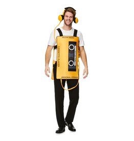 Cassette player kostuum one size