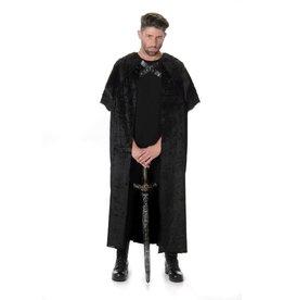 Black fur cape one size