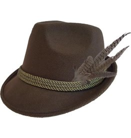 Oktoberfest hoed groen deluxe