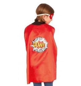 Superheld cape rood