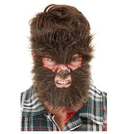 Weerwolf gezichtsmasker