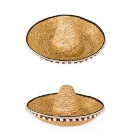 sombrero 55 cm met bolletjes