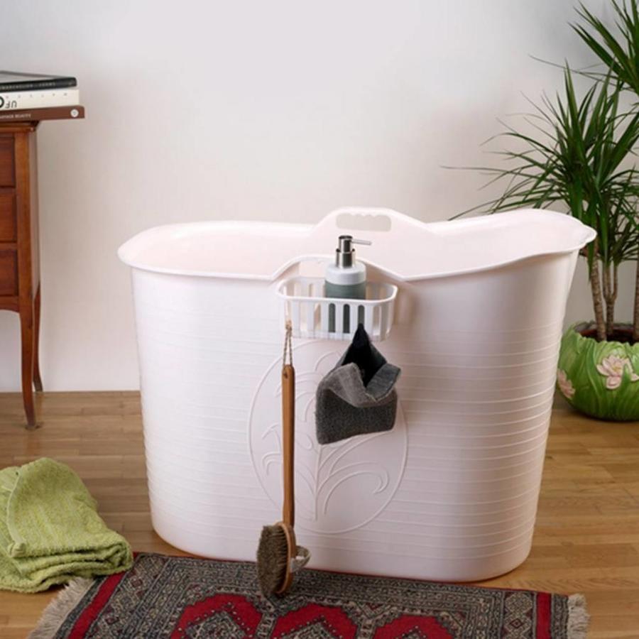 Bath Bucket Voor Volwassenen Roze 92x51x63cm 200 L