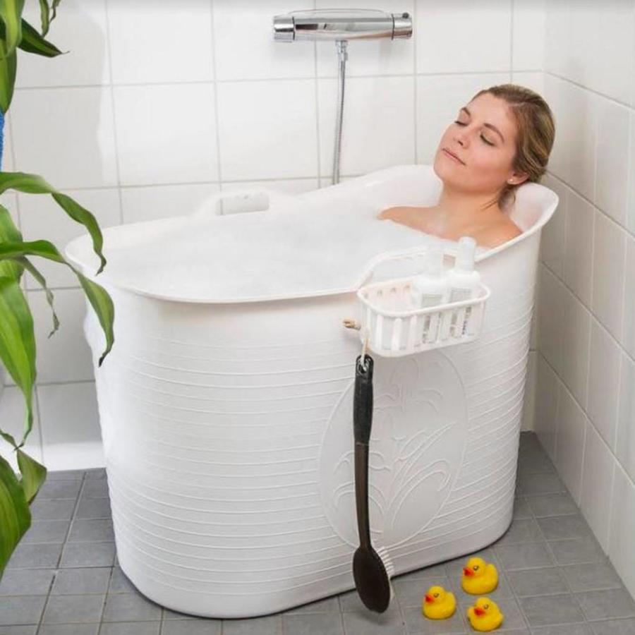 Bath Bucket Voor Volwassenen Wit 92x51x63cm 200 L