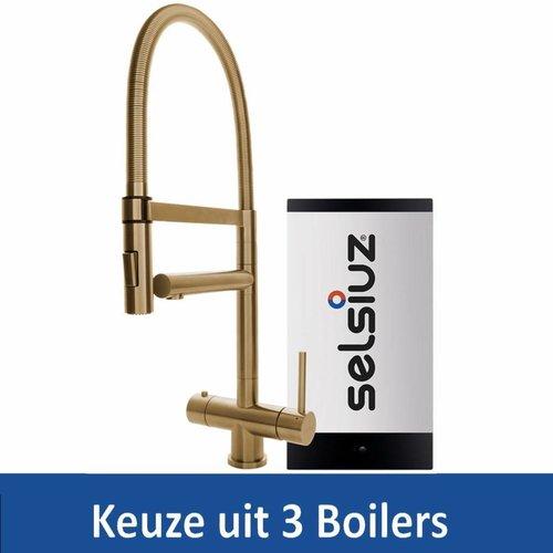 Kokendwaterkraan XL Gold Inclusief Boiler (Keuze uit 3 boilers)