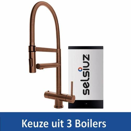 Kokendwaterkraan XL Copper Inclusief Boiler (Keuze uit 3 boilers)