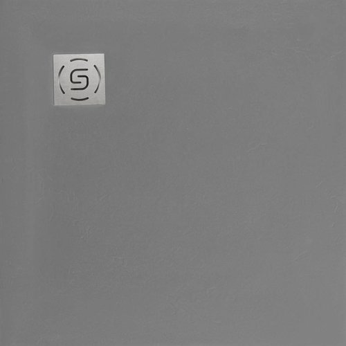 Natuursteen Douchebak Square 80x80cm Grijs