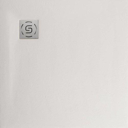 Natuursteen Douchebak Square 80x80cm Creme