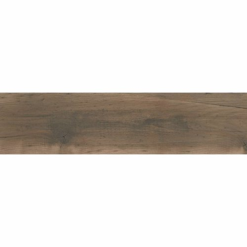 Vloertegel Dundee 25x100 cm Caoba Mate P/M2