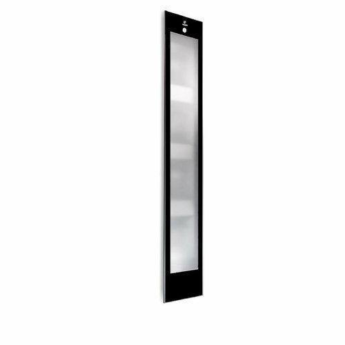 Deluxe Black UV En Infrarood Inbouwapparaat 32X187X16 Cm Aluminium Mat Zwart