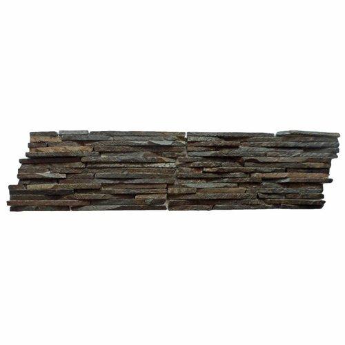 Mozaïek Slate Standing Slice Andesiet 15X30 Cm (Prijs Per 0,5M²)