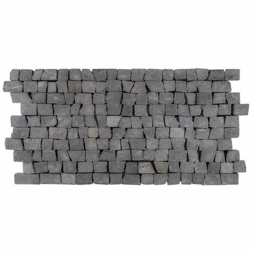 Mozaïek Brick Mosaic Blue Tumble Marmer 30X15Mm (Prijs Per 1M²)
