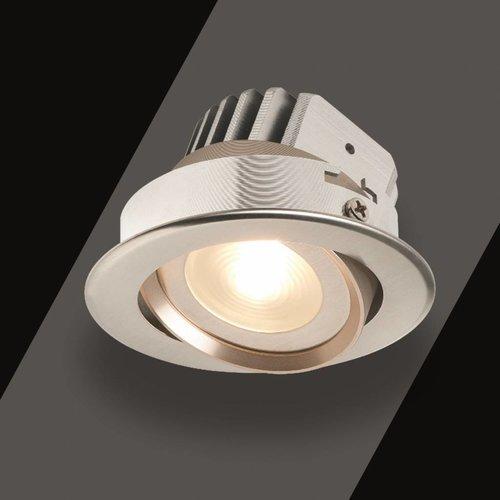 Inbouw Spotlamp Tarragona Kantelbaar Set Rvs