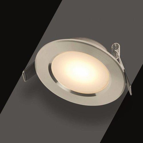 Inbouw Spotlamp Toscane Set (Rvs Look 17443)