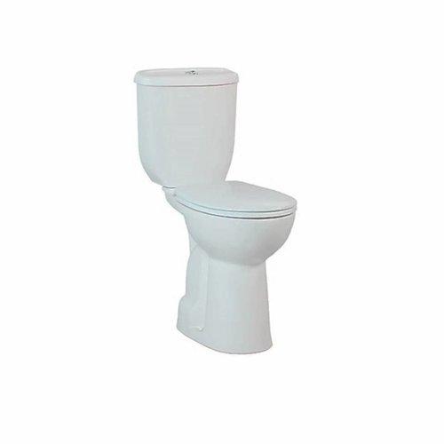 Toiletpot Staand Verhoogd +8.9 Cm Wit Compleet (AO)