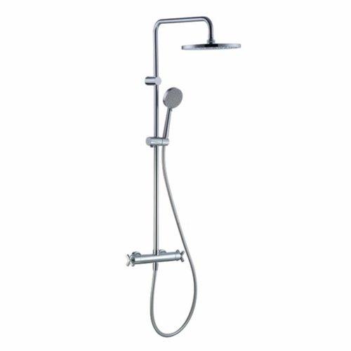 Regendoucheset H2O Crossed 25.4 Cm Met Thermostaat En Handdouche (Verwisselbare Doucheknoppen)
