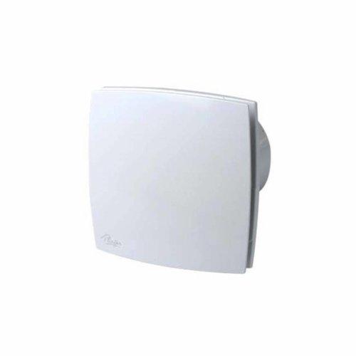 Ventilator Design 165M2 125Mm Met Timer Wit