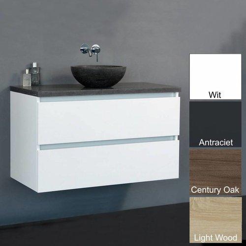 Badmeubel Trend Dynasty 80 Cm Met natuurstenen waskom (4 kleuren)