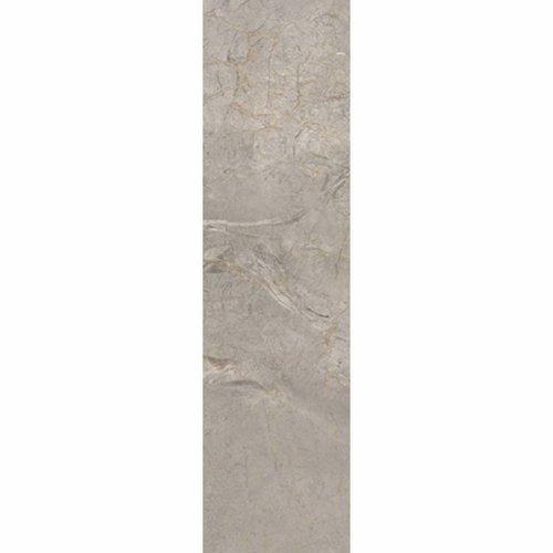 Vloertegel Lux Silver Grey Gepolijst 20X120 Cm Per M2