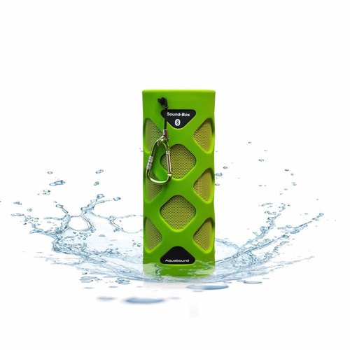 Bluetooth Sound-Box Waterproof (Ipx5) + Usb Oplaadkabel Groen
