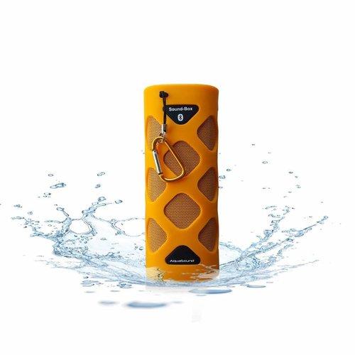 Bluetooth Sound-Box Waterproof (Ipx5) + Usb Oplaadkabel Oranje