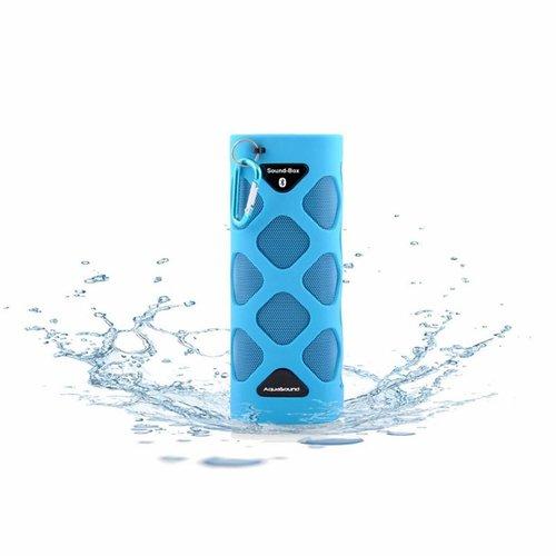 Bluetooth Sound-Box Waterproof (Ipx5) + Usb Oplaadkabel Blauw