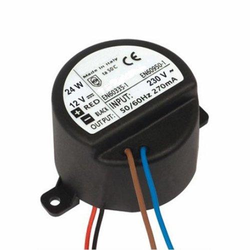 Mini Inbouw Adapter t.b.v. Sound-Bar 5.5 Cm Rond (24W /12V)