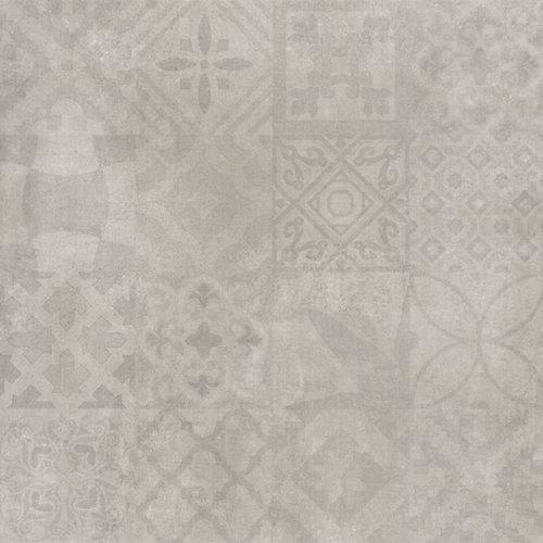 Vloertegel Cristacer Decorado MontBlanc Gris 60X60Cm P/M²