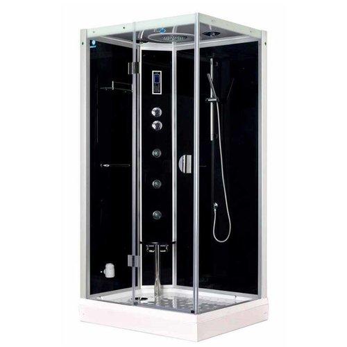 Stoomcabine Black Water R 115X85 Cm (Zitting Rechts)