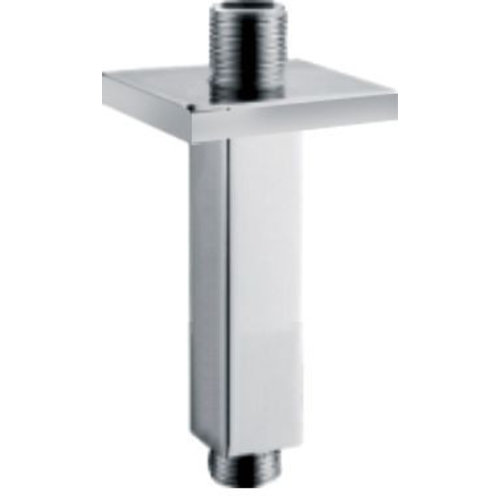Luxe Douche-Arm Vierkant Plafondbevestiging 15Cm Chroom