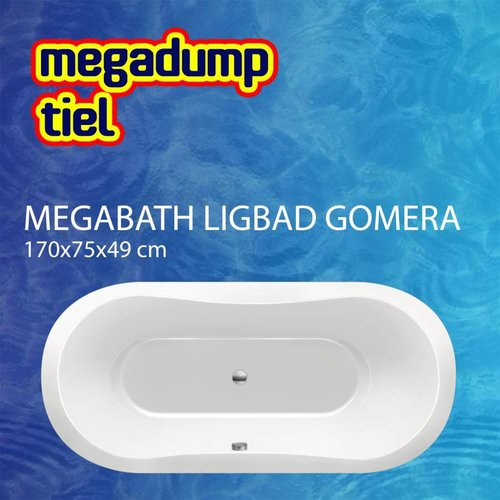 Ligbad Gomera 170X75X49 Cm
