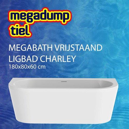 Vrijstaand Ligbad Charley 180X80X60 Cm