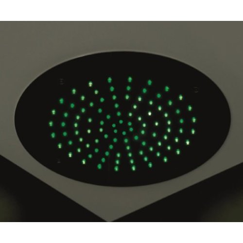 Mate Hoofddouche Met Led Rond 38 Cm M116